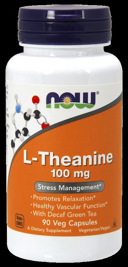 L-Тианин 100 мг 90 капсул