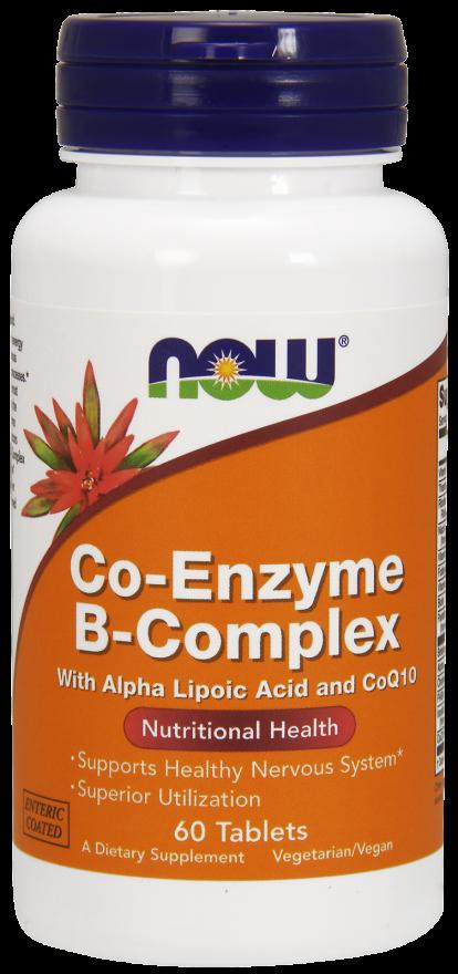 Ко-энзим В-Комплекс 60 таблеток
