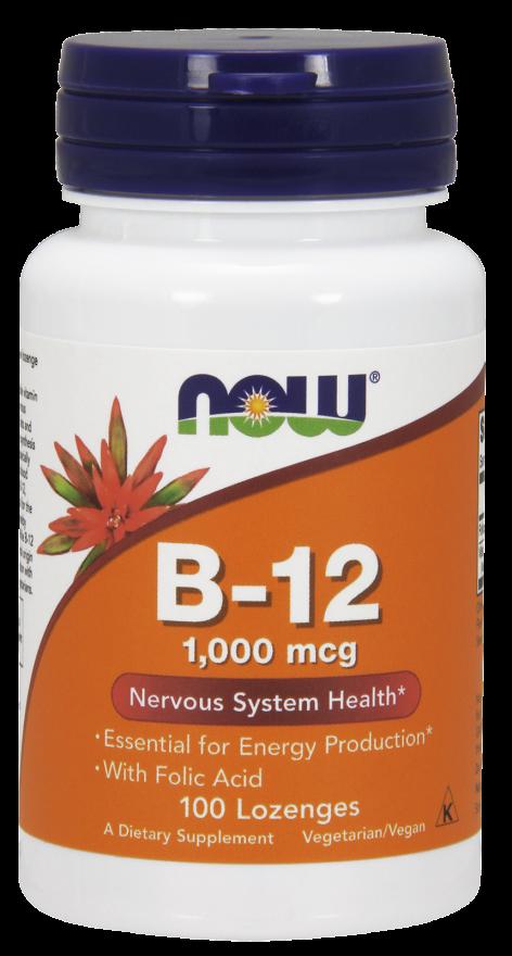 Витамин В12 1000 мкг 100 таблеток