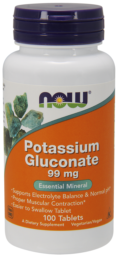Калий глюконат  99 мг 100 таблеток