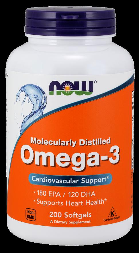 Омега-3 1000 мг 200 капсул