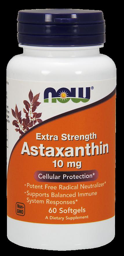 Астаксантин 10 мг 60 капсул