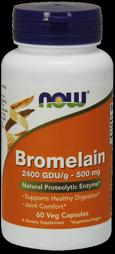 Бромелаин 500 мг 60 капсул
