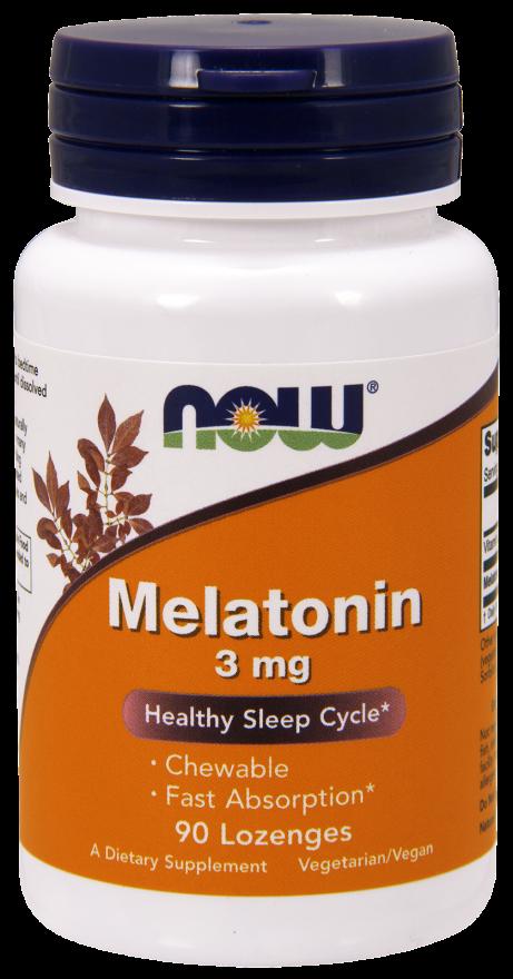 Мелатонин 3 мг 90 жевательных таблеток