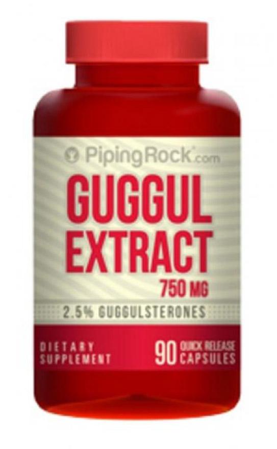 Гуггул экстракт 750 мг 90 капсул