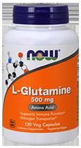 L-Глютамин 500 мл 120 капсул