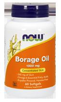 Борадж Ойл (Гамма-линолевая кислота) 1000 мг 60 капсул