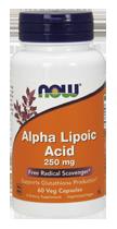 Альфа-липоевая Кислота 250 мг 60 капсул